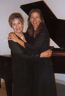 Doreen Irwin with daughter